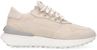 Beige Lage Sneakers 76008