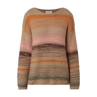 Pullover van een mix van katoen en scheerwol (biologisch)