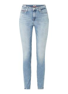 Nora mid waist skinny fit jeans met stretch