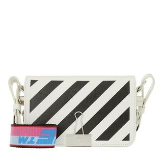 - Diag Mini Flap Crossbody in wit voor dames
