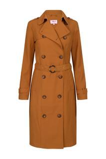 Dames Trenchcoat bruin