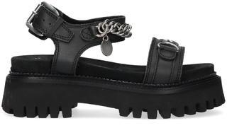 Zwarte Sandalen Groovy-sandal