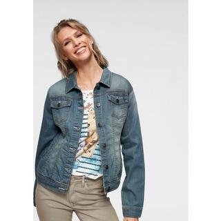 Jeansjack in used-wassing