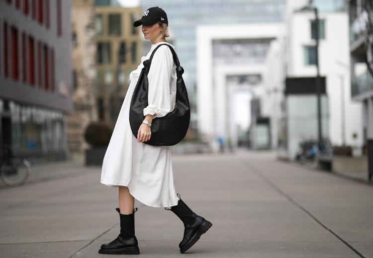 Trend gespot: zwieren in wijde midi jurken