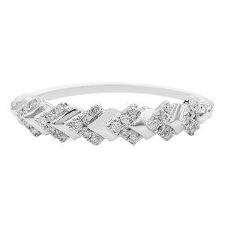 Gouden ring met I1 (G) Diamanten (Annette)