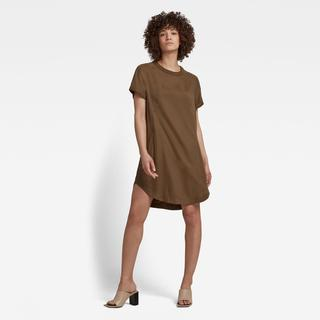 Woven Tee Jurk - Loose Fit