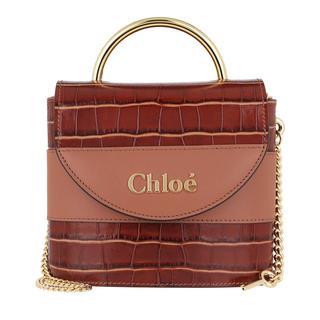 Cross Body Bags - Aby Shoulder Bag Leather Chestnut Brown in bruin voor dames
