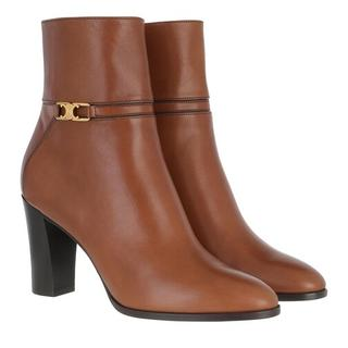 Boots & laarzen - Claude Ankle Boots Leather in cognac voor dames