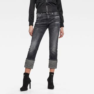 Noxer High Straight Jeans - Straight Fit - Taillehoogte Hoog