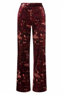 70s Ethel Crimson Pants in Windsor Red