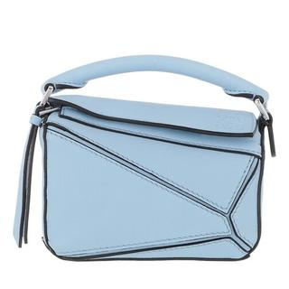 Crossbody bags - Nano Puzzle Bag Classic Calfskin in blauw voor dames