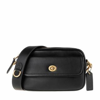 Heuptasjes - Glovetanned Leather Convertible Waist Pack in zwart voor dames
