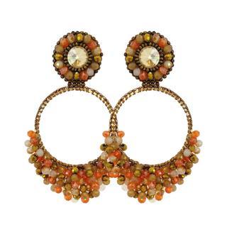 Bellísima - Orange Earrings