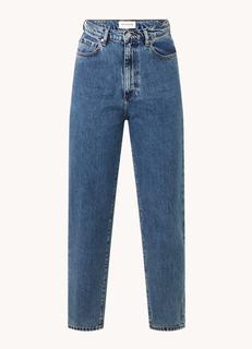 Mairaa high waist tapered fit cropped mom jeans