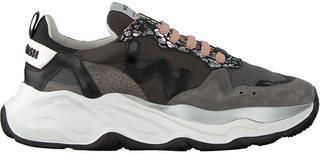 Grijze Lage Sneakers Futura Dames