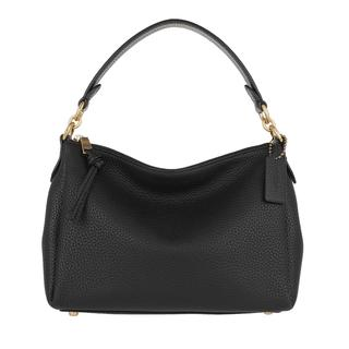 Hobo Bags - Soft Pebble Leather Shay Crossbody Black in zwart voor dames
