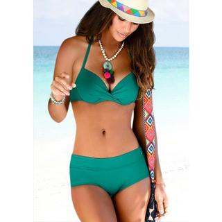 Bikini-hotpants Spain unikleur