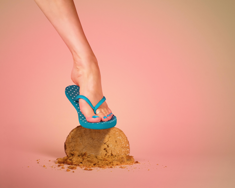 Tijd voor slippers... voeten voorbereiding in 6 stappen