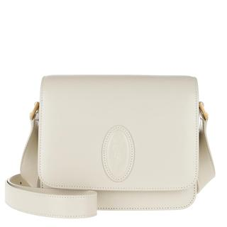Cross Body Bags - LE 61 Small Saddle Bag Smooth Leather Crema Soft in wit voor dames - Gr. Small