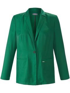 Blazer met lange mouwen en 1-knoopssluiting groen