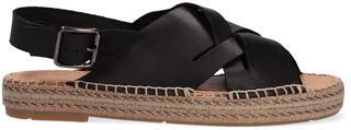 Zwarte Sandalen Mondi Libre