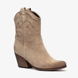 suede dames western laarsjes