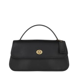 Cross Body Bags - Turnlock Clutch Black in zwart voor dames