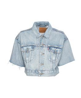 Spijkerjack Blauw 85296-0001