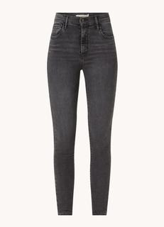 720 High waist super skinny jeans met stretch