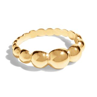 THE MILA RING - 18k gold plated