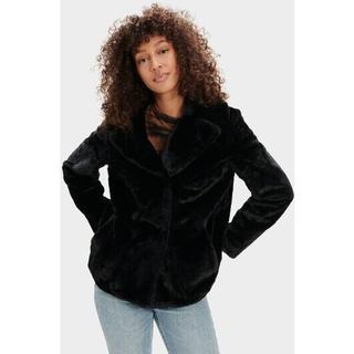 Rosemary Faux Fur Jas voor Dames in Black
