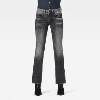 Midge Mid Bootcut Jeans - Bootcut Fit - Taillehoogte Normaal