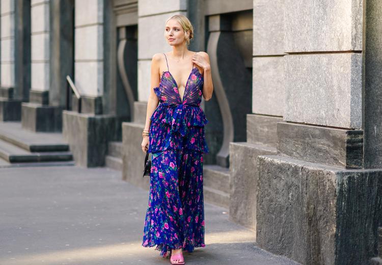De maxi jurk: zo draag je 'm bij jouw figuur