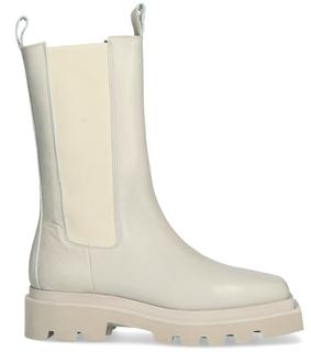 Witte Chelsea Boots Tl-12681