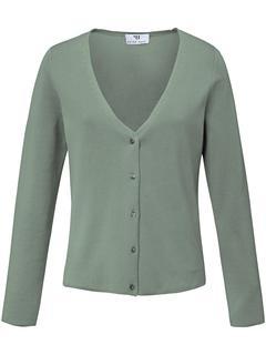 Vest van 100% SUPIMA®-katoen groen