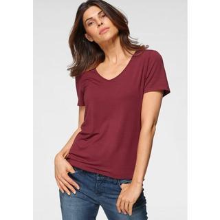 shirt met V-hals duurzaam van lenzing™ ecovero™-viscose