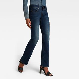 Midge Bootcut Jeans - Bootcut Fit - Taillehoogte Normaal