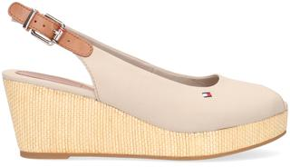 Beige Espadrilles Iconic Elba Sling Back Wedge