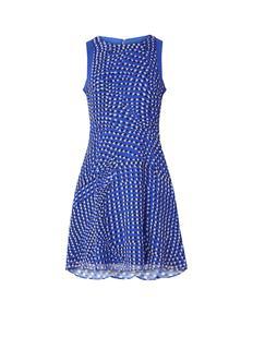 Nelly mini-jurk met stippendessin