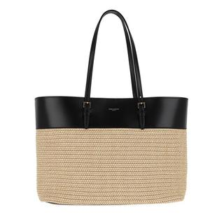 Totes - Raffia Shopper Medium in zwart voor dames