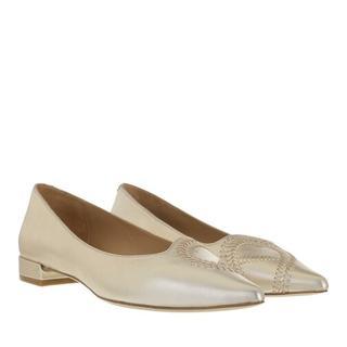 Loafers & ballerina schoenen - Alina 1B in gold voor dames
