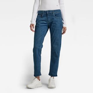 Kate Boyfriend Jeans - Midden blauw - Dames