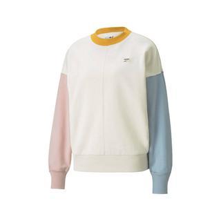 sweater Downtown ecru/lichtblauw/lichtroze