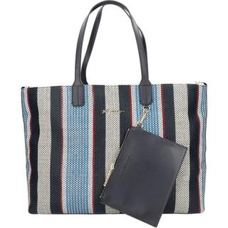 Stripes shopper