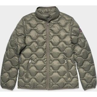 Selda Packable Quilted Jas voor Dames in Olive