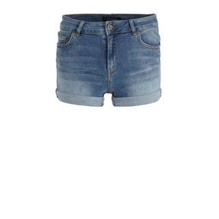 jeans-shorts stonewashed blauw