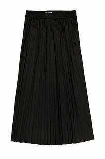 Garica plisse rok zwart h 10321