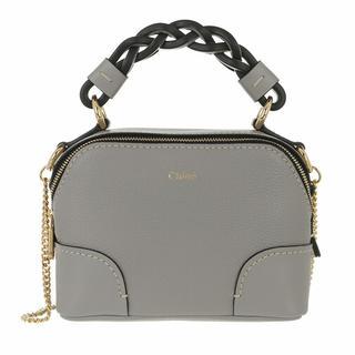 Crossbody bags - Mini Daria Chain Crossbody Bag Leather in gray voor dames