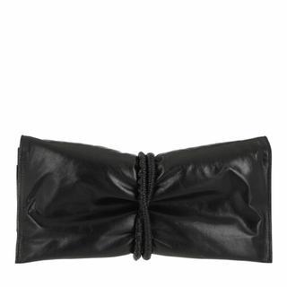 - Clutch Paper Calf in zwart voor dames