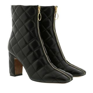 - Ankle Boot Zip Nappa in zwart voor dames
